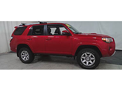 15 TOYOTA 4RUNNER TRAIL ED 4WD Good Miles Navigation Leather Premium Trail Package Toyota Warran