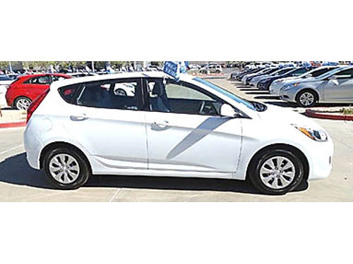 16 HYUNDAI ACCENT SE HATCH Only 17000 Miles Power Package Rare Find Hyundai Warranty One Owner