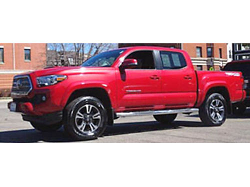 16 TOYOTA TACOMA TRD SPORT V6 Only 4580 Miles Navi Bluetooth Backup Camera And Can Handle Anythi
