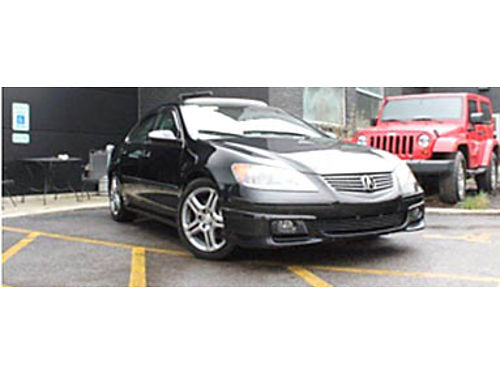 06 ACURA RL 35 A-SPEC AWD Navi Leather Heated Seats Moonroof Premium Audio MP3 CD And Alloy W