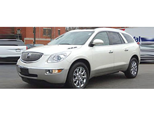 12 BUICK ENCLAVE PREMIUM GROUP AWD Power Everything Heated Leather Seats 3rd Row And Chrome Whee