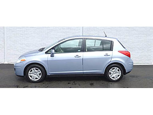 10 NISSAN VERSA 18S HATCH Low Low Miles Every Power Feature Local Trade Great Low Low Price Ult