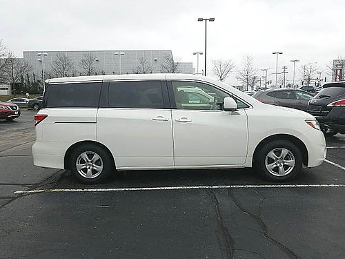 12 NISSAN QUEST 35 SV One Owner Just 51k miles Super Low Price 29534NA 866-395-0979 CALL