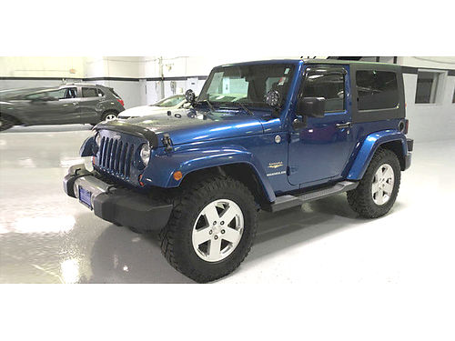 10 JEEP WRANGLER SAHARA 4X4 Low Miles Navi Sirius MP3 CD Traction Control
