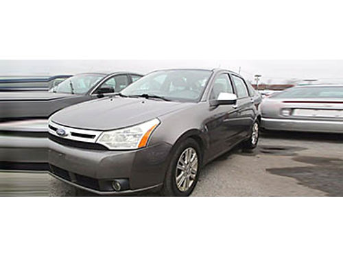10 FORD FOCUS Leather Sunroof AC Hurry In 708-333-2266 2700