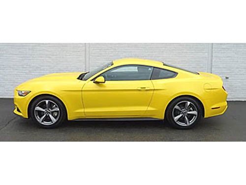 16 FORD MUSTANG COUPE One Owner Ford Dealer Ford Inspected Super Low Low Low Miles 866-490-5173