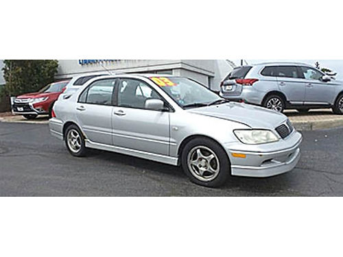 03 MITSUBISHI LANCER OZ RALLY Low Low Low Priced Mitsu Dealership Inspected Too Call Fast 866-3