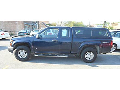 07 GMC CANYON SLE EXT CAB 76K Miles Full Power Automatic CD Chrome Steps Bedliner Topper Allo
