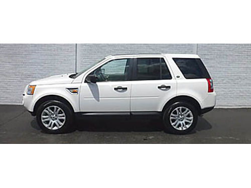 08 LAND ROVER LR2 SE AWD The White Knight Hard To Find Low Price Leather Skyviews Tech 866-490
