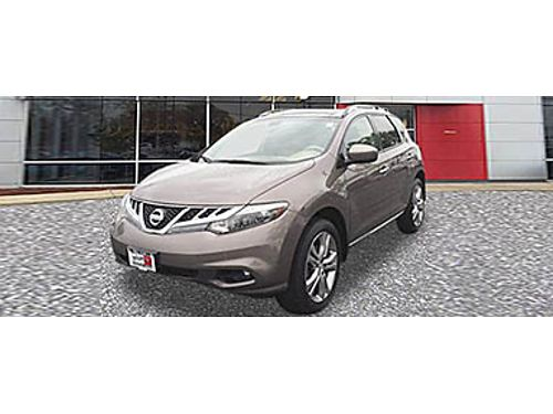 11 NISSAN MURANO LE V6 Tinted Bronze Navigation Leather Back-Up Camera Luxury  Style 866-393-