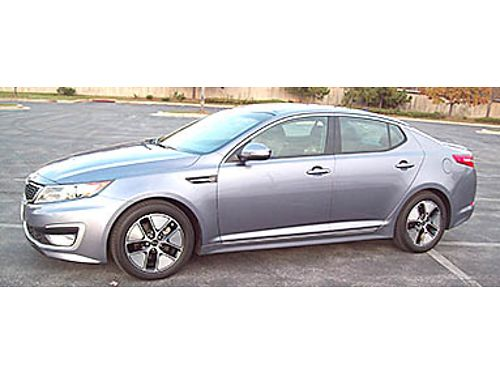 12 KIA OPTIMA HYBRID Drive For Pennies A Miles Hybrid Technology Without The Sacrifice 866-383-754