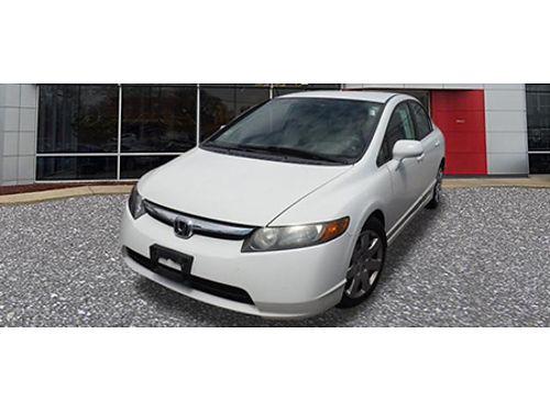 07 HONDA CIVIC What A Value Power Features Hurry In 866-393-8791 1785958A 7444