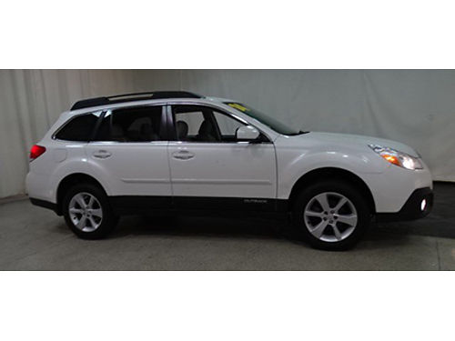 14 SUBARU OUTBACK PREMIUM WAGON AWD Only 18000 Miles One Owner Premium Package Free Drive Train