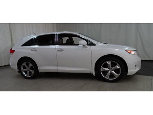10 TOYOTA VENZA V6 AWD Only 60k Miles Leather Loaded Local Trade Chromes Gold Check Warranty Se