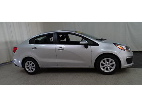 17 KIA RIO LX SEDAN Only 4000 Miles One Owner Power Package Se Habla Espanol Was 15950 Summer