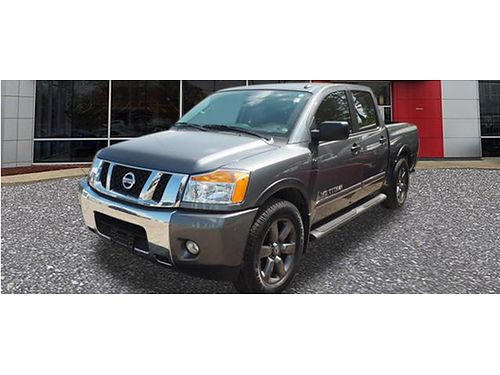 15 NISSAN TITAN SV Crew Cab Ready To Work Or Play Power One Owner Dont Miss