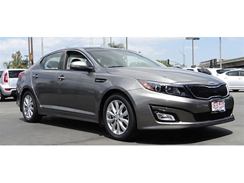 15 KIA OPTIMA EX One Owner Only 4000 Miles Lleather Luxury Loaded 866-383-7542 17987A 15999