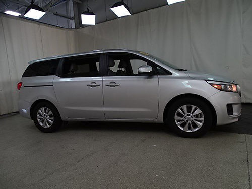 17 KIA SEDONA LX Special Purchase Camera Bluetooth All Power Options Low Miles Se Habla Espanol