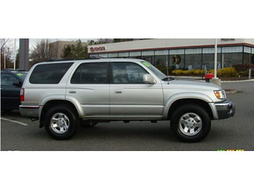 00 TOYOTA 4RUNNER SR5 4WD One Owner Moonroof Boards 4x4 Pristine Condition Se Habla Espanol Wa