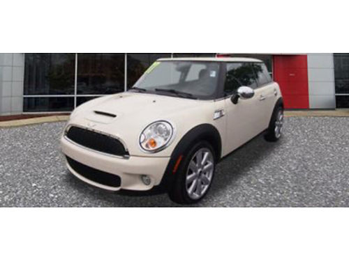 07 MINI COOPER S Smile As You Pass The Pumps Pepper White Sunroof 866-393-8791 81630 9999