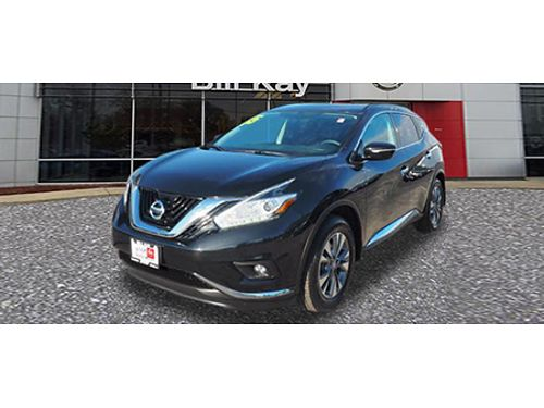 15 NISSAN MURANO SV Certified Sunroof Back Up Camera Nice 866-393-8791 N1780092A 27999