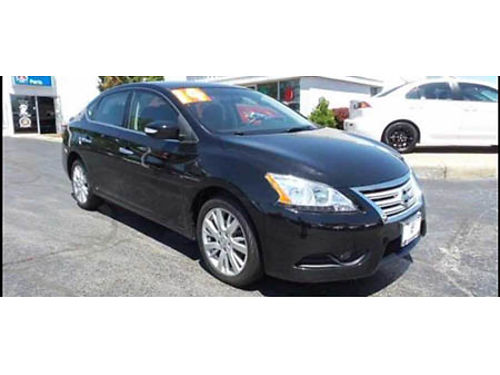 15 NISSAN SENTRA SR Only 6233 Miles One Owner Must See To Appreciate This Super Value Heated Sea