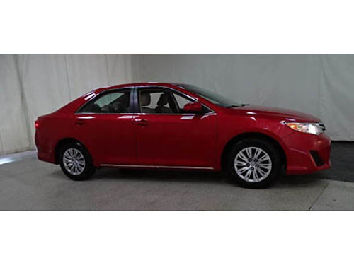 14 TOYOTA CAMRY LE One Owner Low Miles Camera All Power Options Toyota Certified Se Habla Espan
