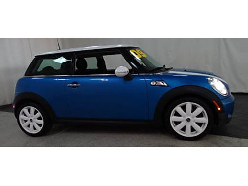 09 MINI COOPER S Only 39000 Miles Local Trade Moonroof Alloys All Options Extra Clean Se Habl