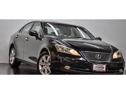 09 LEXUS ES 350 Clean Carfax Non-Smoker Loaded Navigation HeatedVentilated Leather Moonroof B