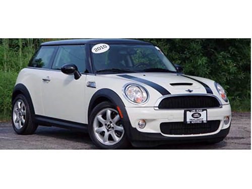 10 MINI COOPER TURBOCHARGED Only 55968 Miles Clean Carfax Remote Keyless Entry Panoramic Roof M