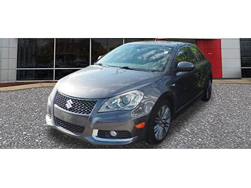 11 SUZUKI KIZASHI SPORT SLS Fully Equipped Fuel Efficient Clean Dont Miss Out 866-393-8791 N17