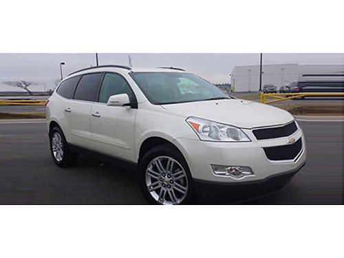 12 CHEVY TRAVERSE LT Fully Equipt Power Great Value 866-393-8791 M1710006A 17999