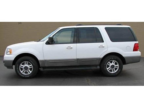 04 FORD EXPEDITION XLT 4WD 3rd Row Power Options Great Price Local Trade Super Clean 866-399-42