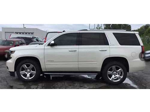 15 CHEVY TAHOE LTZ 4X4 Loaded With Navi Leather Heated Seats Premium Audio CD Alloys And Much Mo