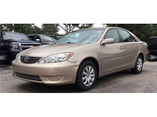 05 TOYOTA CAMRY Priced To Sell Runs Great Clean File Photo 866-695-2321 CP2412B 5995