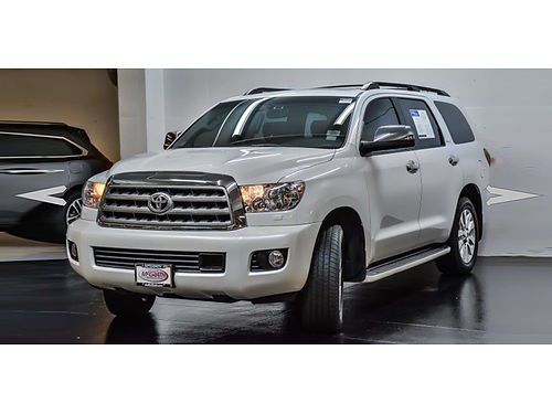 10 TOYOTA SEQUOIA PLATINUM AWD Loaded With Every Option Imaginable Navigation