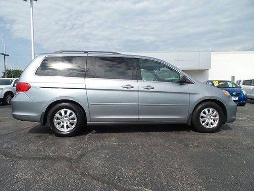 08 HONDA ODYSSEY EX-L Low Miles Navigation Rear Entertainment Heated Leather