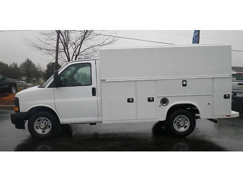 17 EXPRESS 3500 KNAPHEIDE Servie Utility Van Brand New Ready To Earn Its Keep