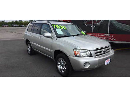 04 TOYOTA HIGHLANDER A Crowd Pleaser Power 3rd Seat Clean 630-514-3307 P23878 7995