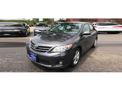 13 TOYOTA COROLLA The Safety You Need And The Features You Want At A Great Price Will Never Let You