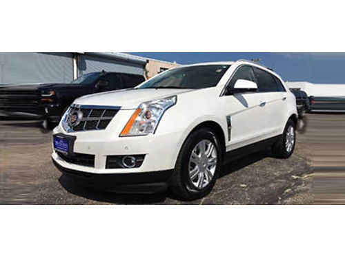 11 CADILLAC SRX LUXURY One Owner Low Miles All Power Leather Moonroof Parking Sensors And To Mu
