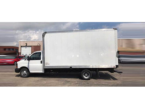 13 CHEVY EXPRESS CUTAWAY TRUCK 60L V8 4X2 One Owner Low Miles Perfect For All The Trades 866-69