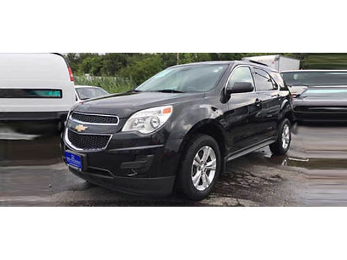 13 CHEVY EQUINOX 1LT Black On Black Low Miles OnStar Ready Remote Keyless Entry Cd Parking Sens