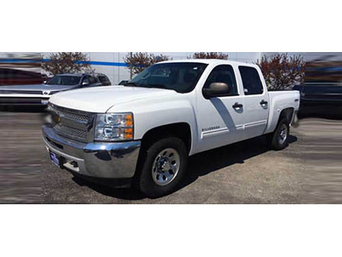 12 CHEVY SILVERADO 1500 LT CREW CAB 4X4 Can Handle Any Terrain 866-695-2321 CP2258 26895