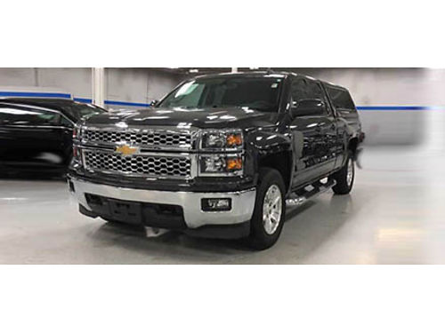 15 CHEVY SILVERADO 1500 LT DOUBLE CAB 4X4 Only 22975 Miles One Owner XM Ready MP3 Cd Bluetoot
