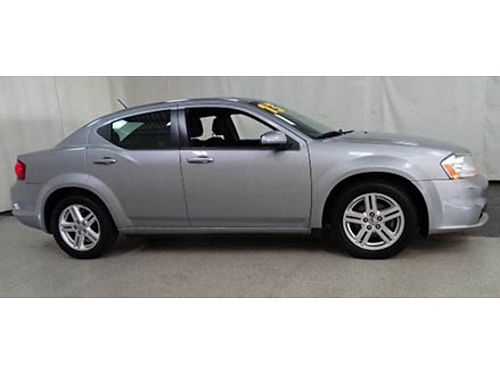 13 DODGE AVENGER SXT Only 41K Miles Factory Warranty Full Power Was 10950 Clearance 847-235-7