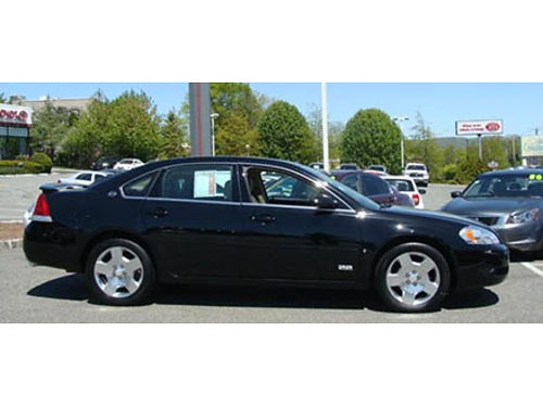 07 CHEVY IMPALA SS One Owner Low Miles Leather Full Power Call WConfidence Se Habla Espanol