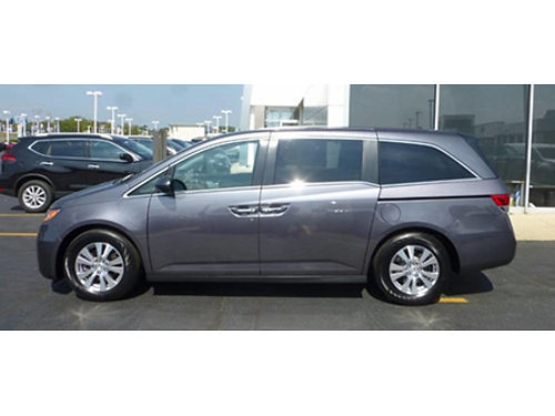 15 HONDA ODYSSEY EX-L One Owner 21K Miles Leather Power Doors All The Best Options Call WConfi