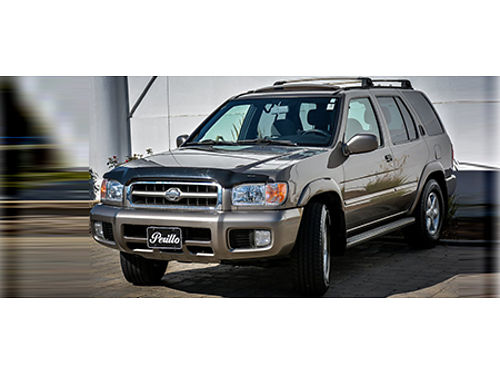 2001 NISSAN PATHFINDER LE AWD Budget Friendly Sunroof Well Kept 855-875-8075 D6718A 2788