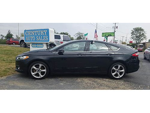 15 FORD FUSION SE Good Miles Fully Loaded Local Trade Tech Packed SE Black On Black Se Habla Es